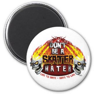No sea un enemigo del patinador el imán redondo