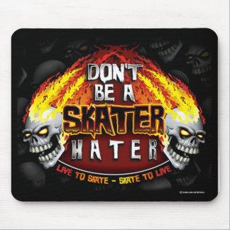 No sea un enemigo del patinador (Mousepad) Tapetes De Raton