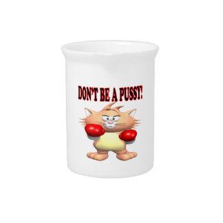 No sea un gatito jarrones