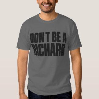 No sea un Richard Poleras