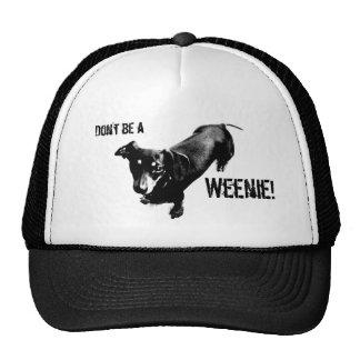 ¡No sea un Weenie! Gorras