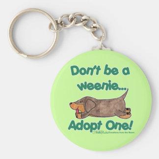 ¡No sea un Weenie! Llaveros