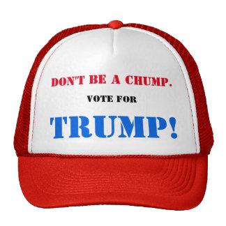 No sea un ZOQUETE. ¡Vote por TRIUNFO! Gorra
