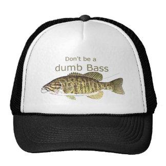 No sea una cita divertida baja muda de la pesca gorras de camionero