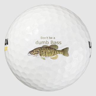No sea una cita divertida baja muda de la pesca pack de pelotas de golf