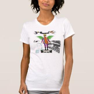 No sea una fricción apenas sea una camiseta de la poleras