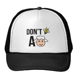No sea una oveja gorras