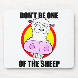 no sea una oveja alfombrilla de ratón