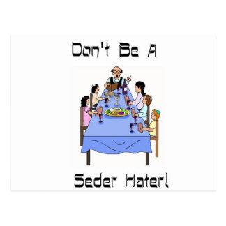 No sea una postal del enemigo de Seder
