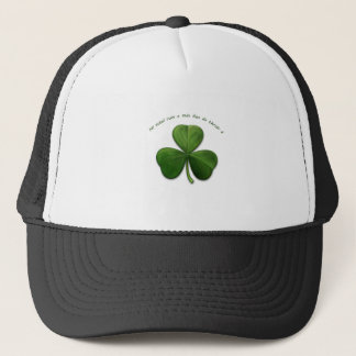 No Secret is Known by 3 people. Old Irish Saying Trucker Hat