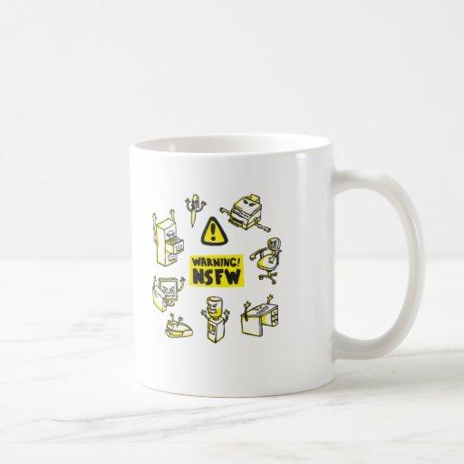 No seguro para el trabajo tazas de café
