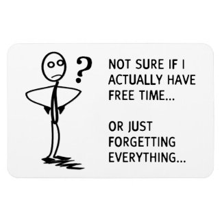No seguro si tengo realmente tiempo libre… iman rectangular