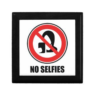 No Selfies Gift Box