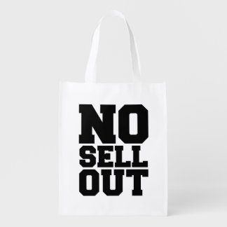 NO SELL OUT GROCERY BAG