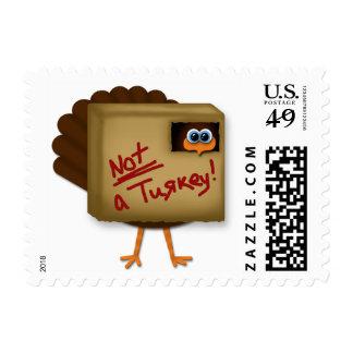No sellos divertidos de la acción de gracias de u