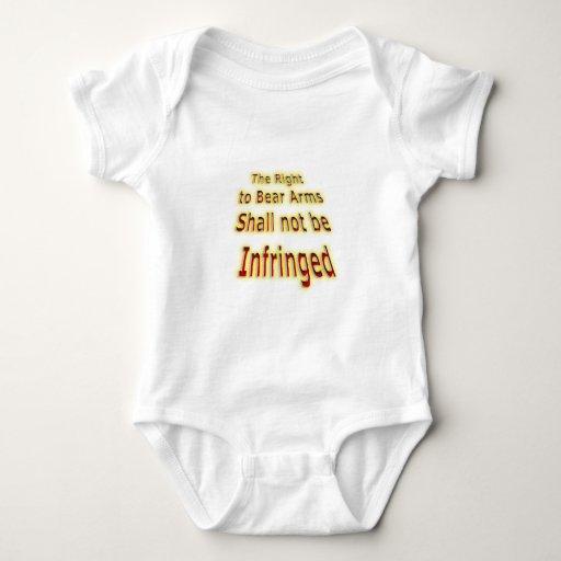 No será infringido mameluco de bebé