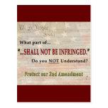 No será infringido postal