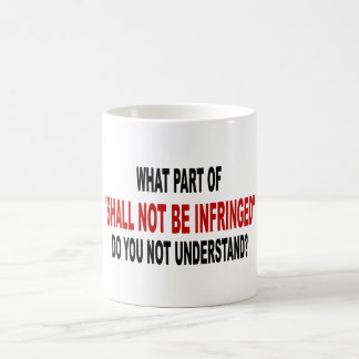 No será infringido taza