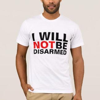 No seré camisetas desarmadas