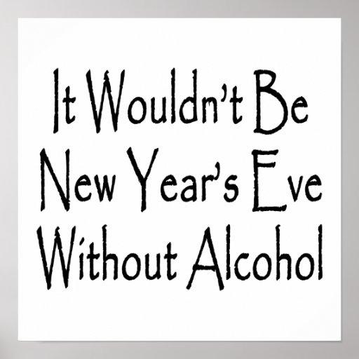 No sería Noche Vieja sin alcohol Impresiones