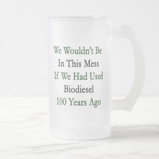 No seríamos en este lío si habíamos utilizado Biod Tazas De Café