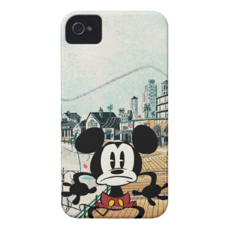 No Service | Alarmed Mickey iPhone 4 Cover