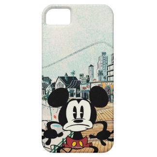 No Service | Alarmed Mickey iPhone SE/5/5s Case