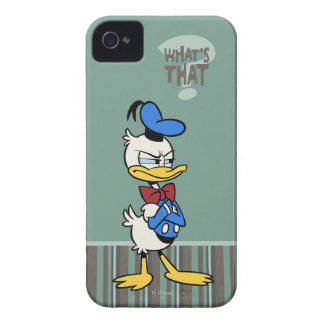 No Service | Donald Duck iPhone 4 Cover
