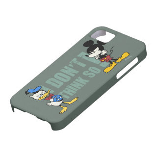 No Service | Mickey and Donald iPhone SE/5/5s Case