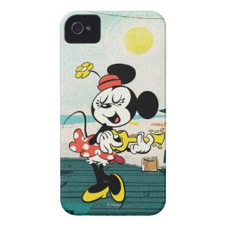No Service | Minnie with Guitar Case-Mate iPhone 4 Case