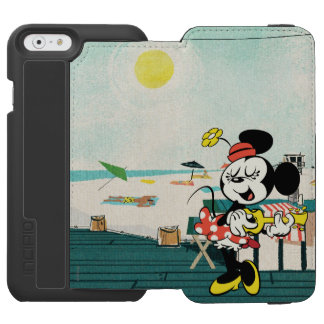 No Service | Minnie with Guitar iPhone 6/6s Wallet Case