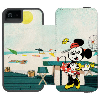 No Service | Minnie with Guitar iPhone SE/5/5s Wallet Case