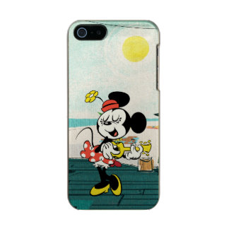 No Service | Minnie with Guitar Metallic iPhone SE/5/5s Case