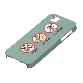 No Service | No Shirts or Shoes Horizontal iPhone SE/5/5s Case