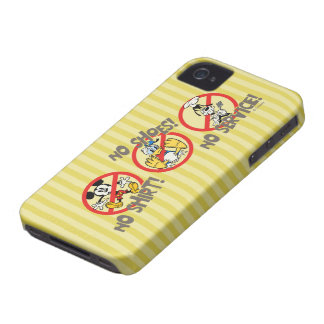 No Service | No Shirts or Shoes iPhone 4 Case-Mate Case