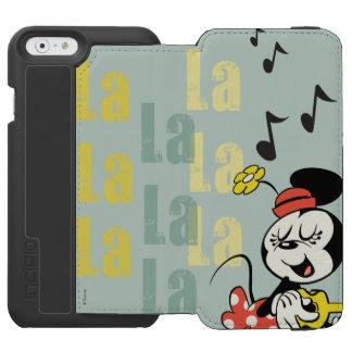 No Service | Singing Minnie iPhone 6/6s Wallet Case