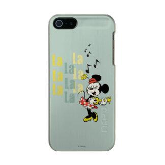 No Service | Singing Minnie Metallic iPhone SE/5/5s Case