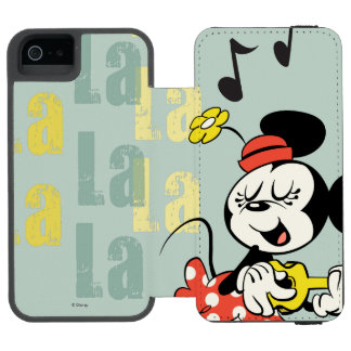 No Service | Singing Minnie Wallet Case For iPhone SE/5/5s