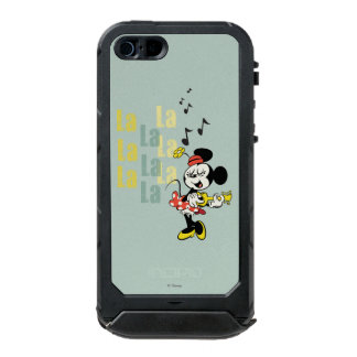No Service | Singing Minnie Waterproof Case For iPhone SE/5/5s