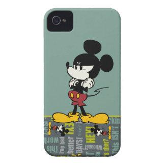 No Service   Upset Mickey iPhone 4 Case-Mate Case