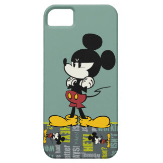No Service   Upset Mickey iPhone SE/5/5s Case