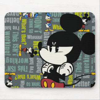 No Service | Upset Mickey Mouse Pad