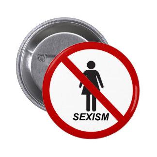 """No Sexism"" Buttons"
