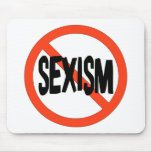 No Sexism Mouse Mats