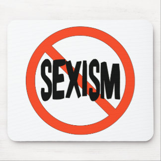 No Sexism Mouse Pad
