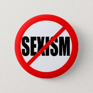 """NO SEXISM"" PINBACK BUTTON"