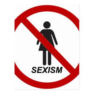 """""""No Sexism"""" Postcard"""
