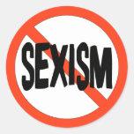No Sexism Stickers
