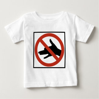 No Shadow Puppets Allowed Highway Sign Tee Shirt
