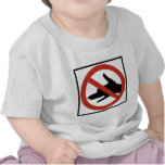 No Shadow Puppets Allowed Highway Sign Tee Shirts